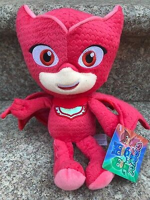 Pj Masks Character Red Owlette 11  Plush Doll Stuffed Animal Boy Girl Toy Nwt