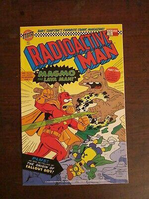 Radioactive Man #88 - Simpsons satire comic - Bongo - Groening - Radioactive Superhero