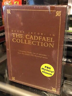 The Cadfael Collection (DVD) Derek Jacobi, Complete 13 Disc! PBS Mystery! Series