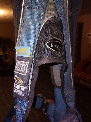 3m Dbi-sala Exofit Medium Tower Climbing Harness Model 1108651 Used W Brace