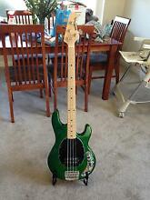 Musicman Stingray in very good condition (glitter green) Adelaide CBD Adelaide City Preview