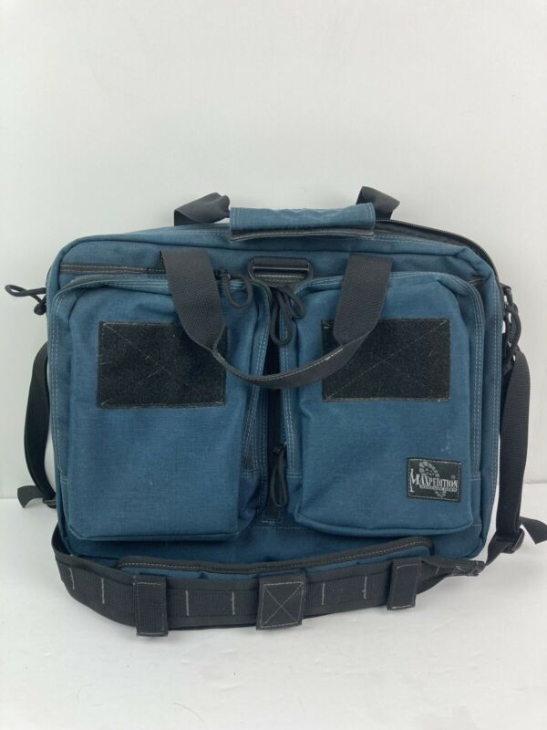 Maxpedition tactical laptop messenger briefcase shoulder bag Go Bag EUC