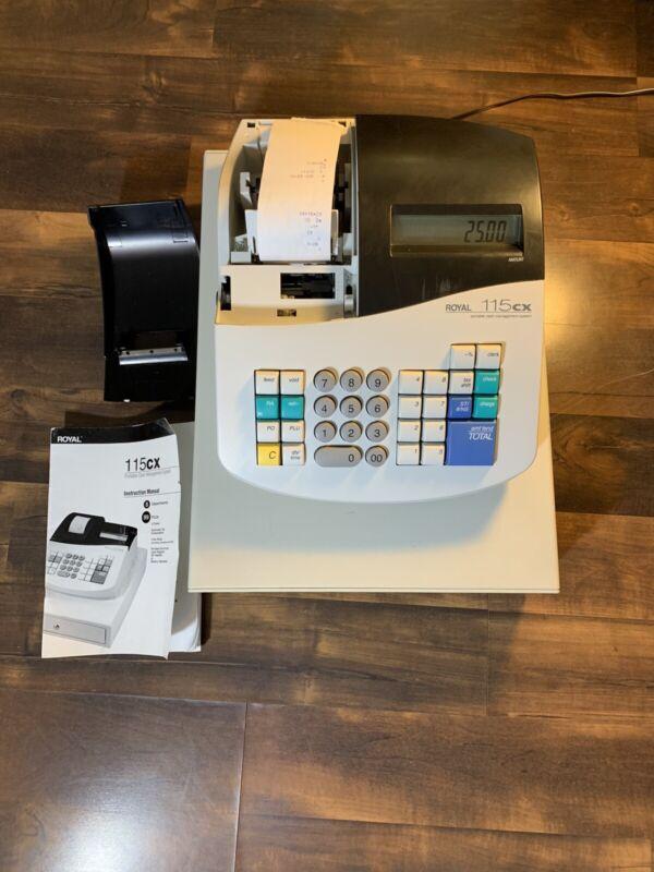 Royal 115cx Portable Cash Register