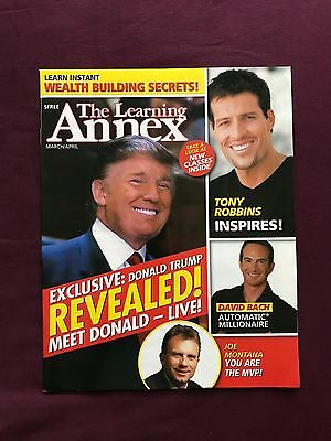 The Learning Annex Magazine 2007 with DONALD TRUMP, JOE MONTANA and TONY ROBBINS