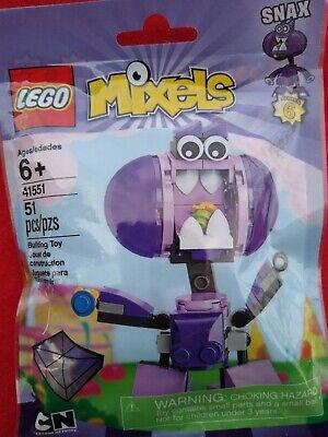 LEGO MIXELS 41551 Snax 51 PCS NEW CARTOON NETWORK  SERIES 6