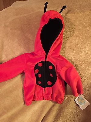 NWT Infant Girls 2nd Step Lady Bug Jacket Size 12 Months - Size 12 Lady