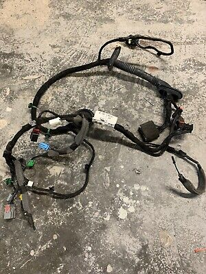 2012 Range Rover Evoque Drivers Side Front Door Wiring Loom