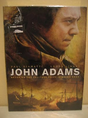 John Adams The Complete 2008 Original Hbo Mini Series Dvd Boxed Set Superb