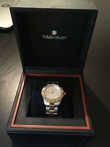 Tag Heuer Two Tone Aquaracer Mens Watch South Perth South Perth Area Preview