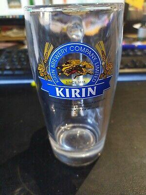 Kirin Beer Mug glass / rare (not released in the UK) / man cave / advertising