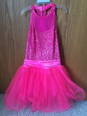 Bright pink sparkly Weissman dance costume/dress Barbie doll outfit Small adult](Adult Barbie Doll Costume)