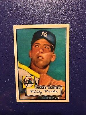 1952 Topps Mickey Mantle Rookie Card  311   Baseball Read Description