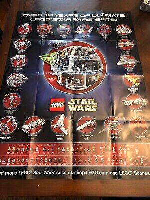 Lego Star Wars Ultimate Set Poster 32X24