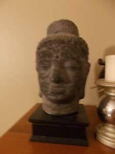 Gorgeous Lava Buddha Head Sculpture in Excellent Condition Prestons Liverpool Area Preview