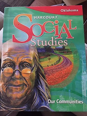 Harcourt Social Studies Student Textbook Homeschool - Grade 3 3rd - Oklahoma