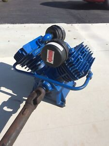 Air compressor (28 cfm) with PTO, Driveshaft & attachments.