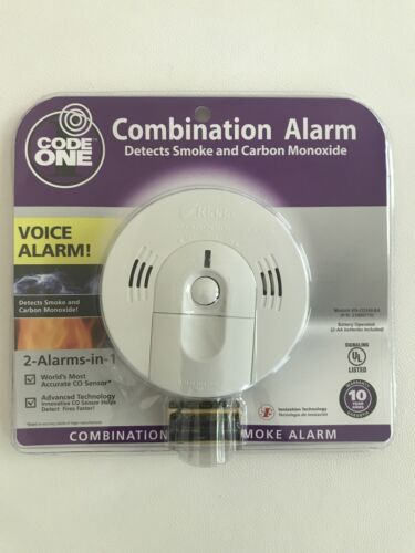 Kidde Battery Operated Smoke Carbon Monoxide Combination Det