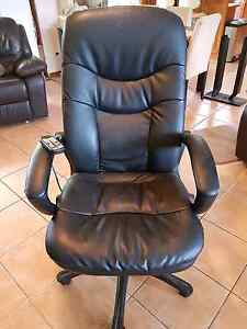 High Backed Office Chair with massager. West Lakes Shore Charles Sturt Area Preview