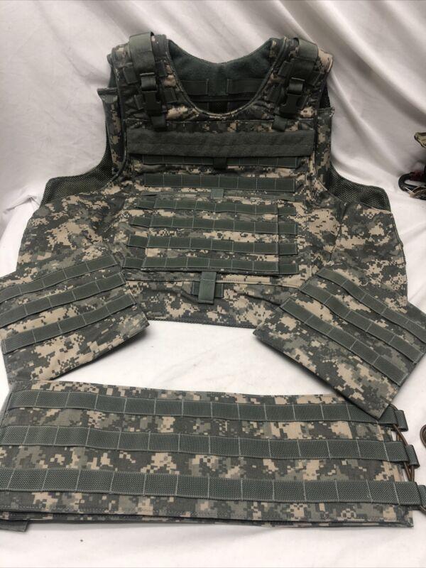 Eagle Industries SAV Spartan Assault Vest  XL ACU MOLLE