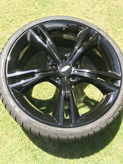Ford Falcon FPV rims  20 inch and Tyres