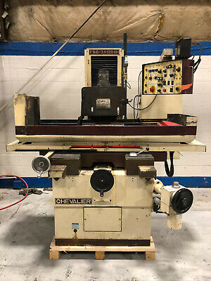 Chevalier Automatic Surface Grinder 12x24 Magnetic Chuck Fsg-3a1224h Sony Dro