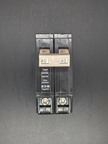 Eaton CHF240 Circuit Breaker 2 Pole 40 Amp Plug In NEW