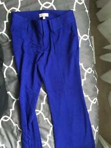 Royal Blue work trousers, size 8