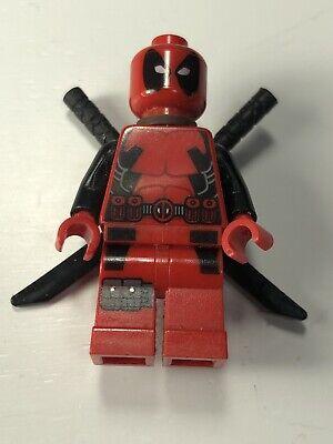 LEGO MARVEL SUPER HERO X-MEN DEADPOOL GENUINE MINIFIGURE 6866