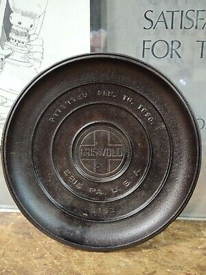 Griswold Cast Iron No 9 Tite Top Dutch Oven Lid Only #2552 Large Logo