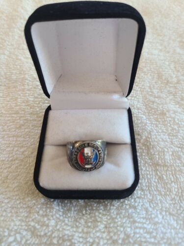 Boy Scouts of America Silver Eagle Scout Ring Size 7&1/2 to 8 BSA Great Gift