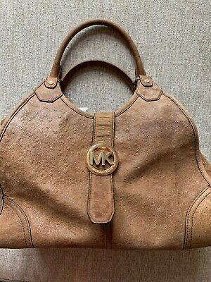 michael kors handbag used Suede