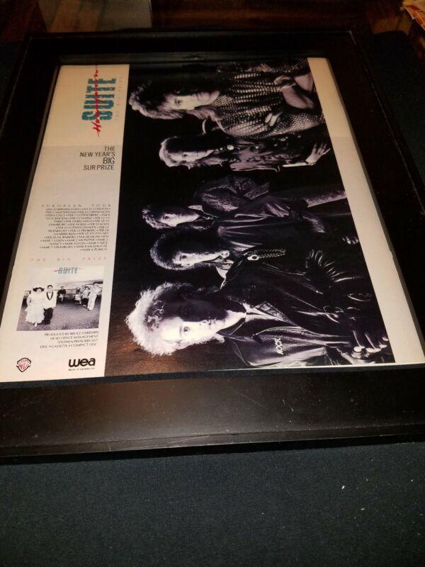 Honeymoon Suite The Big Prize Rare Original Promo Poster Ad Framed!