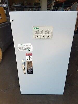 Emerson Asco 104a 480v 3ph Automatic Transfer Switch D00300030104n10c