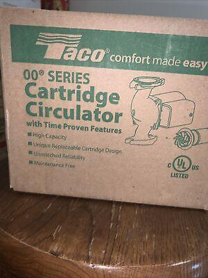 Taco 0011-f4 Hot Water Circulator Pump18 Hp