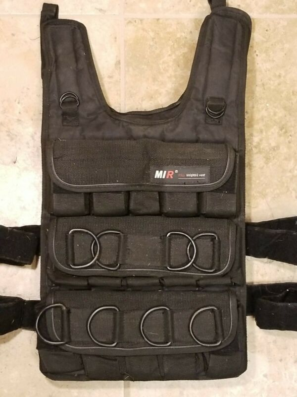 miR - Adjustable Weighted Vest - Holds up to 90 lbs - No Weights