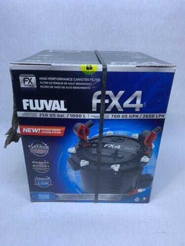 Fluval Fx4 High Performance Canister Filter ~ Brand New~ Sealed Box ~ Never Used