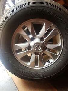 Toyota Land Cruiser 200 series GXL wheels Humpty Doo Litchfield Area Preview