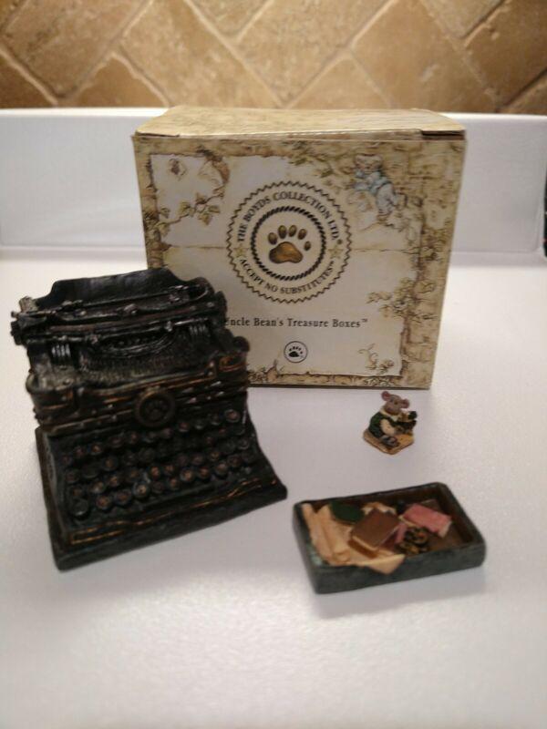 Boyds Bear Treasure Box Wilson
