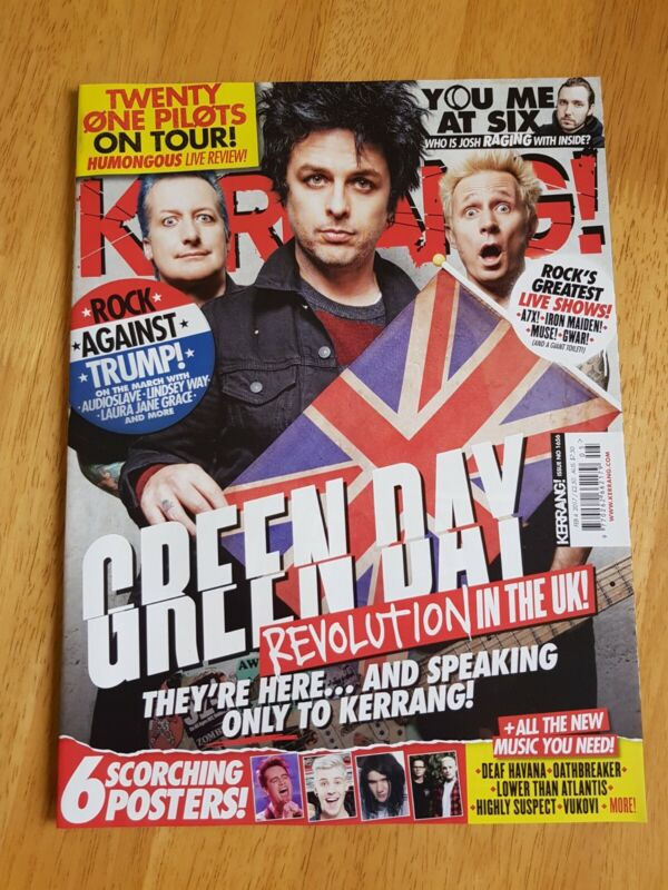 Kerrang%21+Magazine+Issue+%231656+February+4th+2017