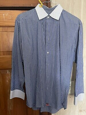 Vivienne Westwood Man Classic Long Sleeve Button Shirt Size 1 Made in Italy