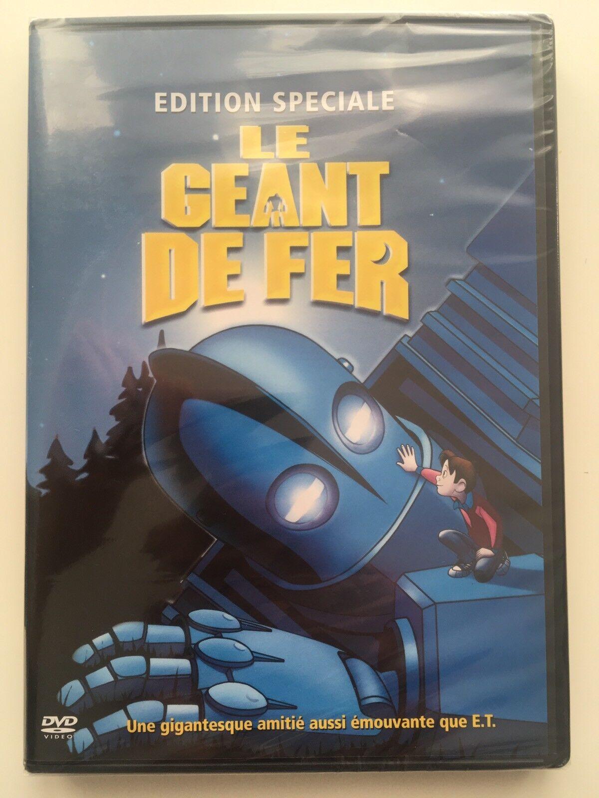 le géant de fer dvd neuf sous blister brad bird