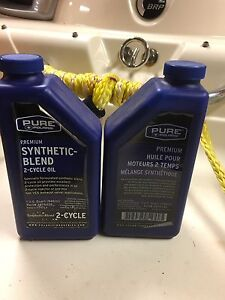 Synthetic-blend 2 cycle polaris oil