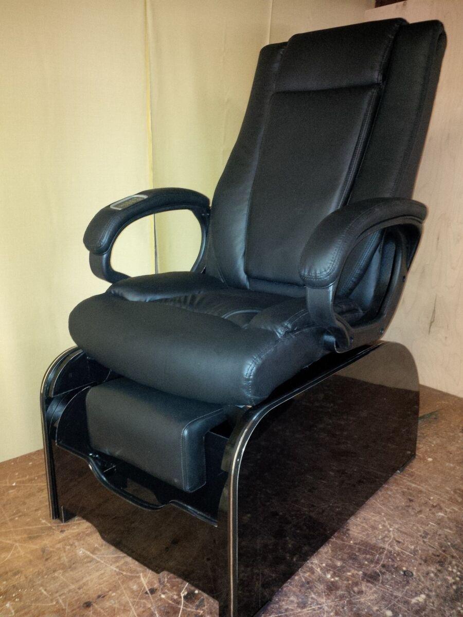 Shiatsu Massage Pedicure Chair Footsie Tub No Plumbing at All