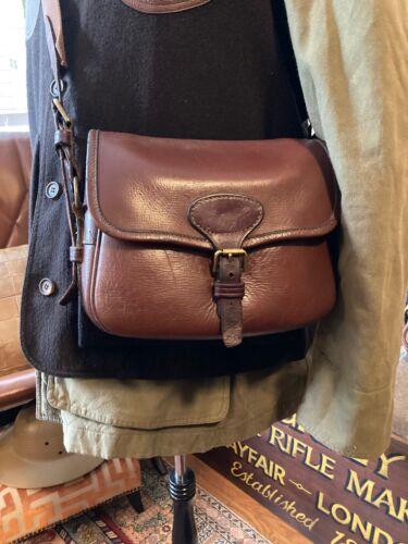 Vintage Bryant of London, Made in UK, Leather Shotgun Shell Bag, 100 Capacity