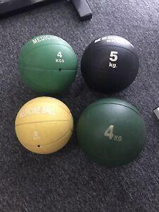 Medicine Balls 2kg $20 4kg $25