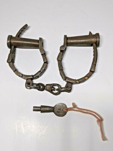 Vintage  Prison Hand Cuffs
