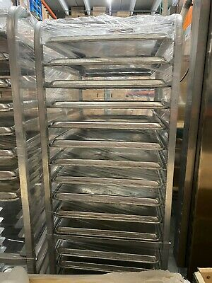 Used Bakery Equipment - Bakery Rack-bun Pan Rack - Carro De Panaderia