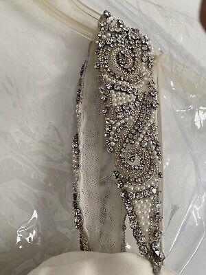 Paloma Blanca Wedding Dress size 12 #4561 Sample dress