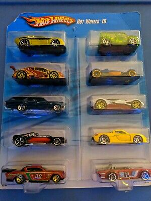 Hot Wheels 10 Car Pack Exclusive BRAND NEW SEALED