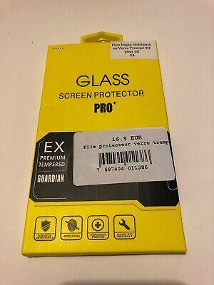 Vidrio Templado Protección Lámina LG g4 Cristal Pantalla Protector Pro + 9h